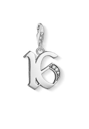 "THOMAS SABO silver Charm pendant ""16"" 8CA93ACE2519D5GS_1"