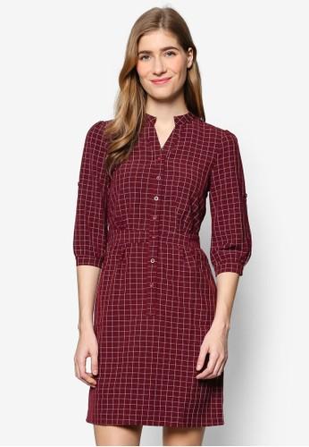 Lovisaesprit 價位 格紋襯衫連身裙, 服飾, 洋裝