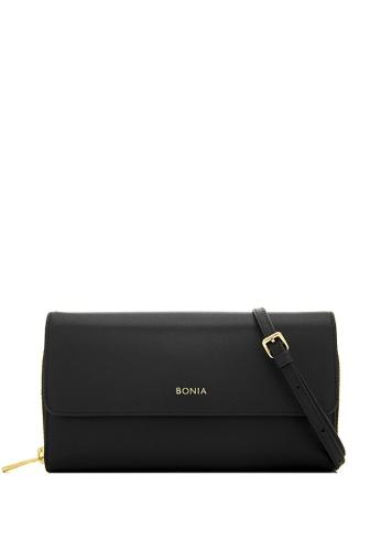 BONIA black Black Bikki Wallet Sling A699CAC81463C1GS_1