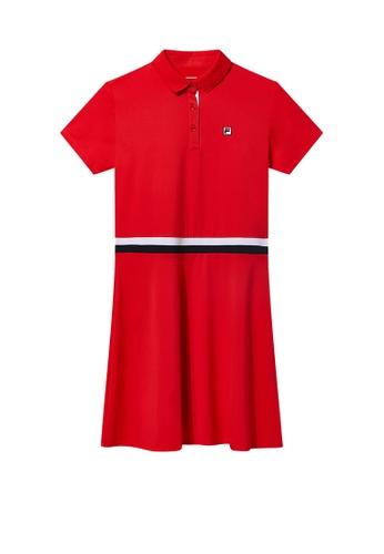 b61029f77c Buy Fila Red Line Tennis Dress Online on ZALORA Singapore