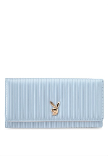 PLAYBOY BUNNY blue Playboy Bunny Long Purse PL604AC0SKNDMY_1