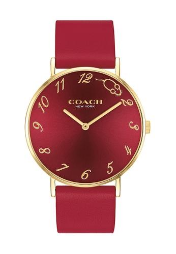 Coach red Coach Perry Red Women's Watch (14503486) 8ABF7AC58E5522GS_1