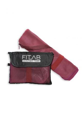 Fitlab red Microfiber Bath Towel 9AAA9HL2A94935GS_1