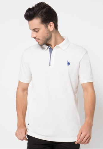 Fashion Polo Shirt With Oxford Placket