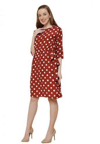 Gina Alana red Gina Alana Red Minnie Polkadot Dress 33462AABEE1EFCGS_1