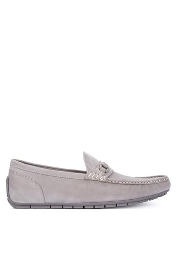 ALDO grey Meledor Loafers E843ASH09294A9GS_1