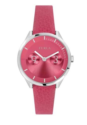 Furla pink Jam Tangan Wanita Furla Metropolis R4251102545 91BFEACA4A77C9GS_1