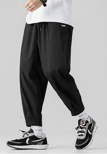 Twenty Eight Shoes black VANSA  Solid Color Casual Sweat Pants  VCM-P2053 1828EAA9474EEFGS_1