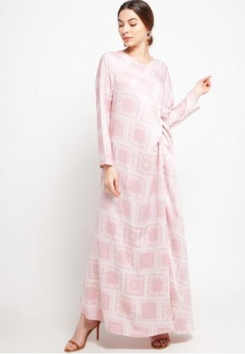 Covering Story pink Damaris Dress - A A9946AAE2B4417GS_1
