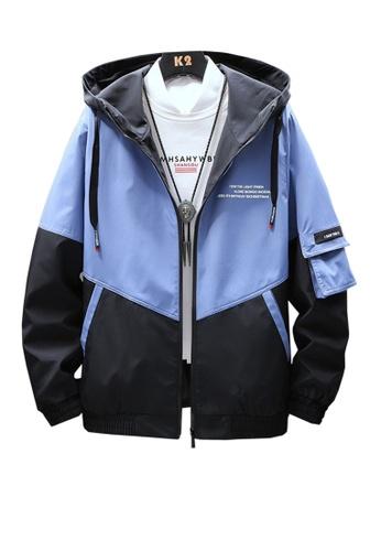 Twenty Eight Shoes blue VANSA  Fashion Hooded Coat VCM-C001 6CAD6AA3FA723FGS_1