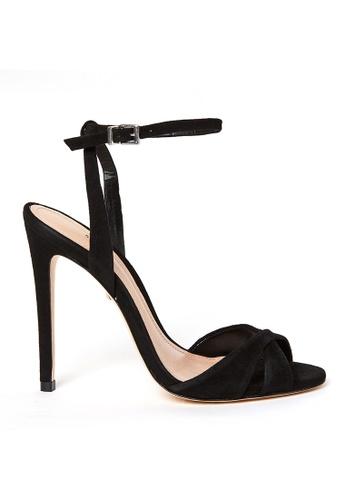 SCHUTZ 黑色 SCHUTZ 搭帶高跟涼鞋 - DOLLIE (黑色) 61F2BSHE9FF452GS_1