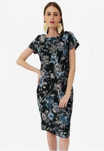 UNAROSA multi Emily Dress 8E87BAACC04EB9GS_1