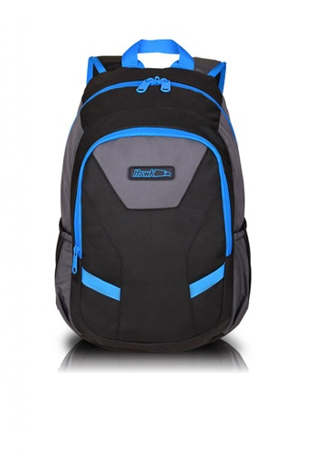 HAWK black and blue 5099 Backpack 372D9AC9610944GS_1