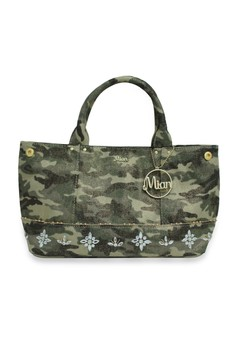 Camouflage CanvasTote Bag