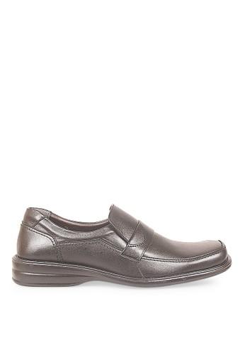 CBR SIX black Cbr Six Sepatu Formal Gozoa Shoes 100 Black CB927SH43MDOID_1