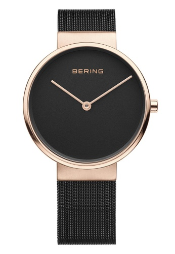 Bering gold Classic 14539-166 Black 39 mm Unisex Watch B6D95ACFDADE42GS_1