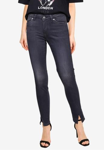 Pepe Jeans black Pixie Twist Mid Waist Skinny Jeans 359C4AADD421B3GS_1