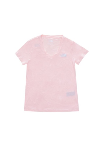 The North Face pink The North Face Women Ambition Running Tee 2.0 Impatiens Pink 29B05AAB5ACAB6GS_1