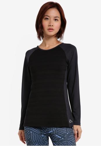 AVIVA black Long Sleeve Shirt 0BBADAA5E2DEFDGS_1