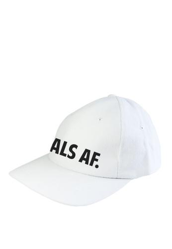 HYPE MNL white Goals AF  Baseball Cap 5535FAC18F4B48GS_1