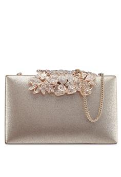 Forever New gold Charlotte Clutch Bag 0E363ACA7708DEGS 1 b9edb5353dcc9