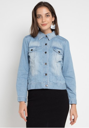 Geela blue Denim Jacket EFFF1AABAC66F3GS_1