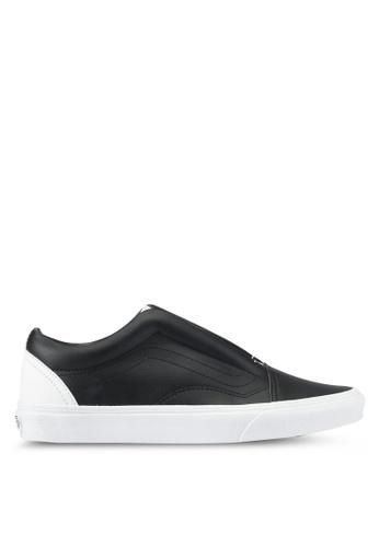 VANS black Old Skool Laceless Classic Tumble Sneakers VA142SH0SWRZMY_1