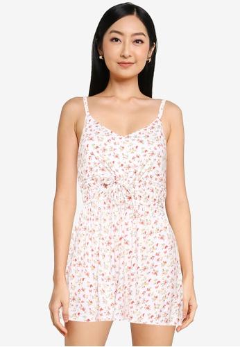 Hollister white Flirty Short Knit Romper 1F1DFAABC5BC28GS_1