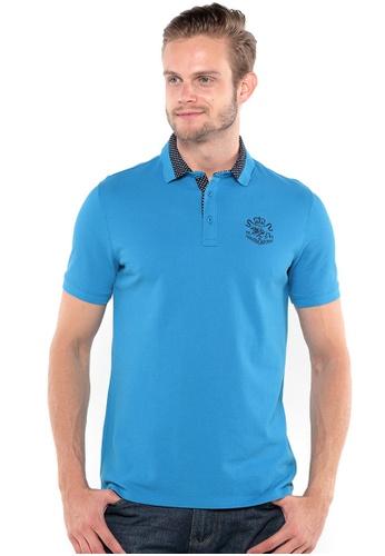 POLO HAUS blue Polo Haus - Polo Tee (Blue) PO783SE72YIHMY_1