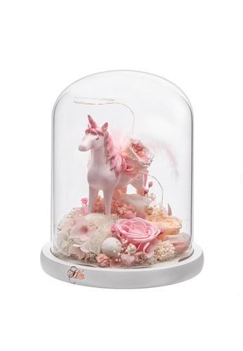 Her Jewellery pink Everlasting Preserved Rose - Unicorn (Pink) D9204HLF80BFABGS_1