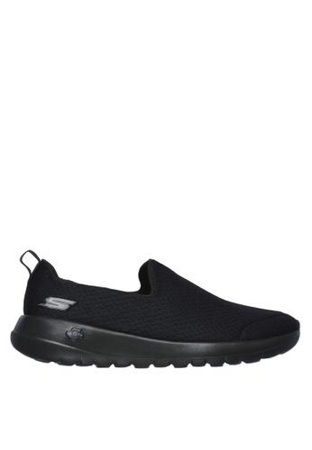 Skechers black Go Walk Max Slip-Ons 99DF8SHF25E241GS_1