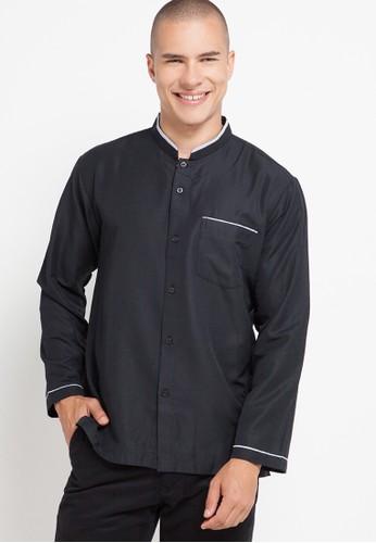 Zavier black Pocket List Long Sleeve Koko 3D4F4AA1C4F3F8GS_1