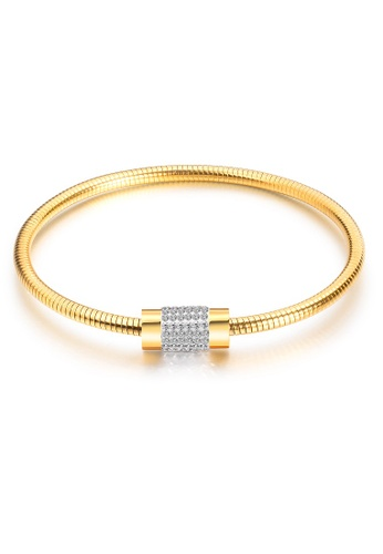 ADORA gold Stainless Steel Bangle FF085AC622F92AGS_1