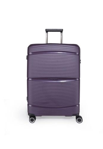 "Lushberry purple Plasmalite Hardcase Luggage-24"" A8B7DAC7E82CC9GS_1"