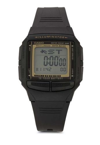 Casio black Casio General Men's Watches Data Bank DB-36-9AVSDF CA843AC35OKMMY_1