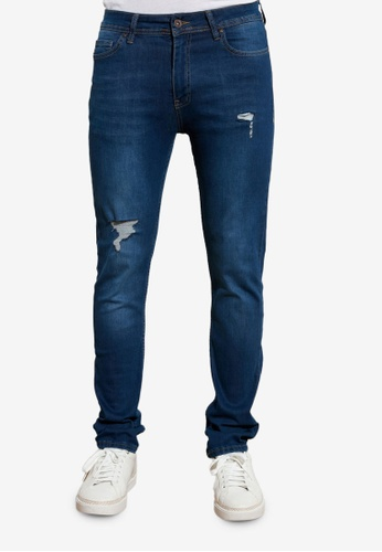 Trendyol blue Distressed Skinny Fit Jeans 65A36AA5A70E09GS_1