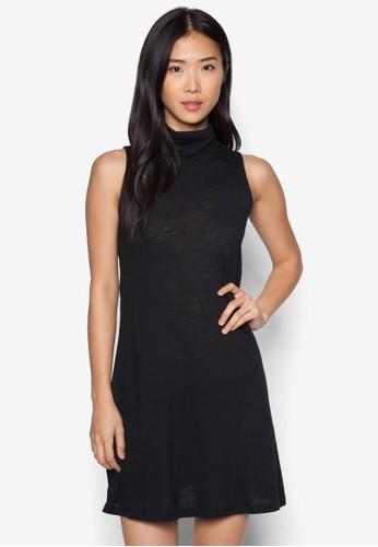 高領無袖連zalora時尚購物網的koumi koumi身裙, 服飾, 服飾