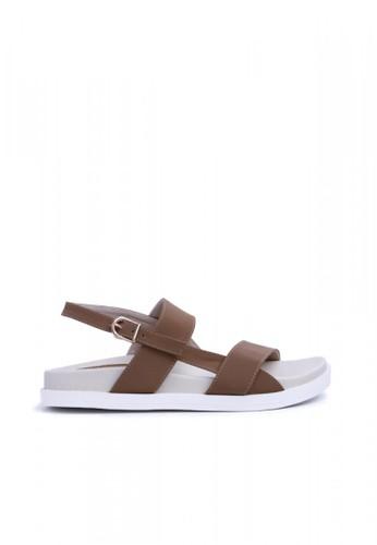 MINKA brown ALP Aly02 Mocca Sandal MI006SH05CXQID_1