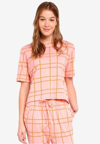 Cotton On Body pink Boxy T-Shirt 664A7AA048A857GS_1
