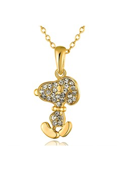 Snoopy 18K Gold Plated Necklace