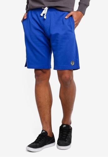 OVS 藍色 抽繩 短褲 97026AAD159286GS_1