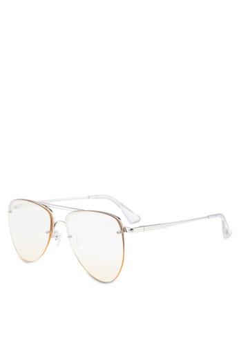 Le Specs 銀色 The Prince Ltd Edt Sunglasses D8309GL5C9DDB7GS_1
