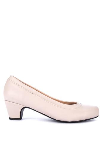 Janylin beige Court Shoes 87CA1SHA25E951GS_1
