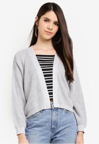 Cotton On grey Archy Summer Cardigan A253EAAD8C656BGS_1
