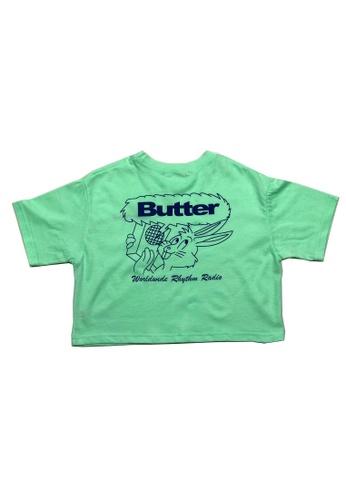 Chica Chico green Butter Rabbit shirts - unisex B5F5AKAD96A396GS_1