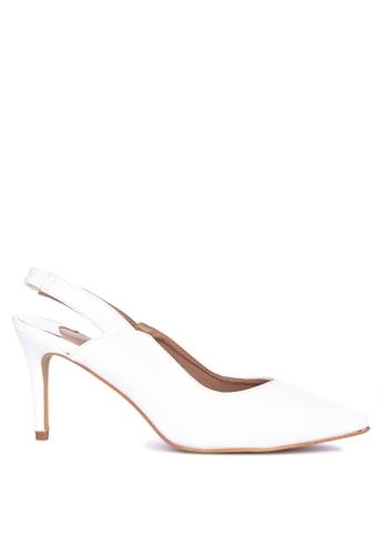685f4c1a626 Shop S H Diega Pointed Toe Slingback Heels Online on ZALORA Philippines