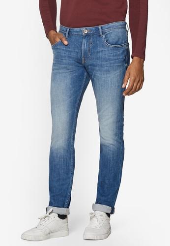 ESPRIT 藍色 Denim Length Service Pants 5ECEEAA2209A84GS_1