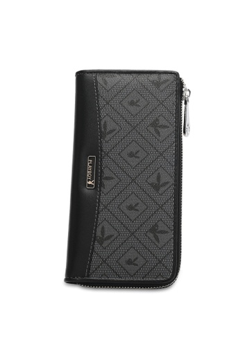 Playboy grey RFID Blocking Long Wallet CB8F5ACDF4B909GS_1