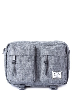 7bf7043441e Herschel grey Eighteen Hip Pack HE958AC0ISZUPH 1