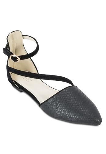 Nisha Strappy Flats, 女鞋, zalora 男鞋 評價鞋